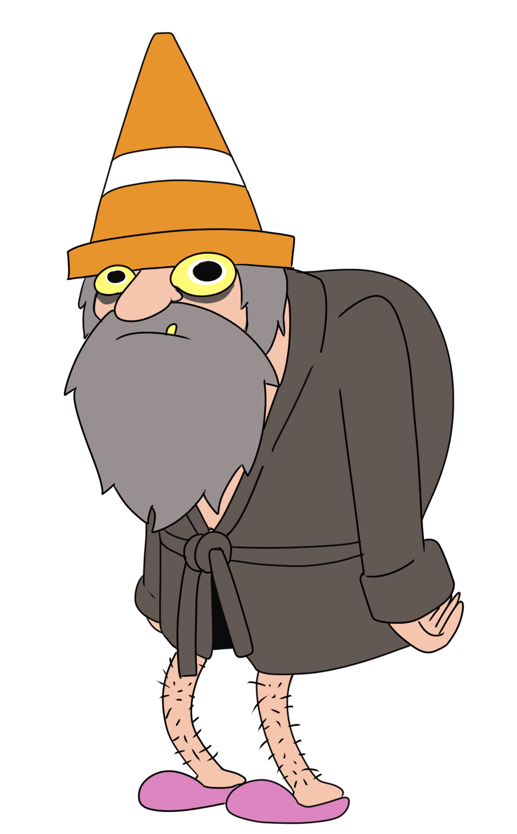 Cartoon Hobo Clipart.
