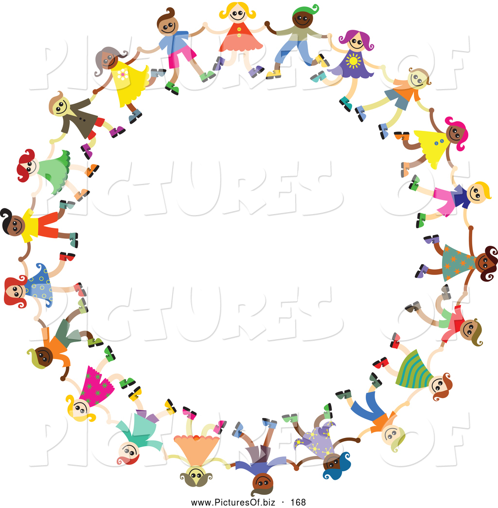 Clipart Holding Hands Circle.