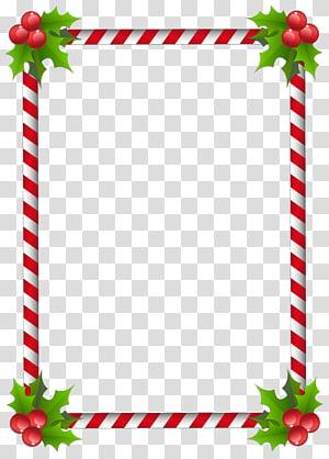 Christmas decoration Frames Santa Claus Desktop , christmas border.