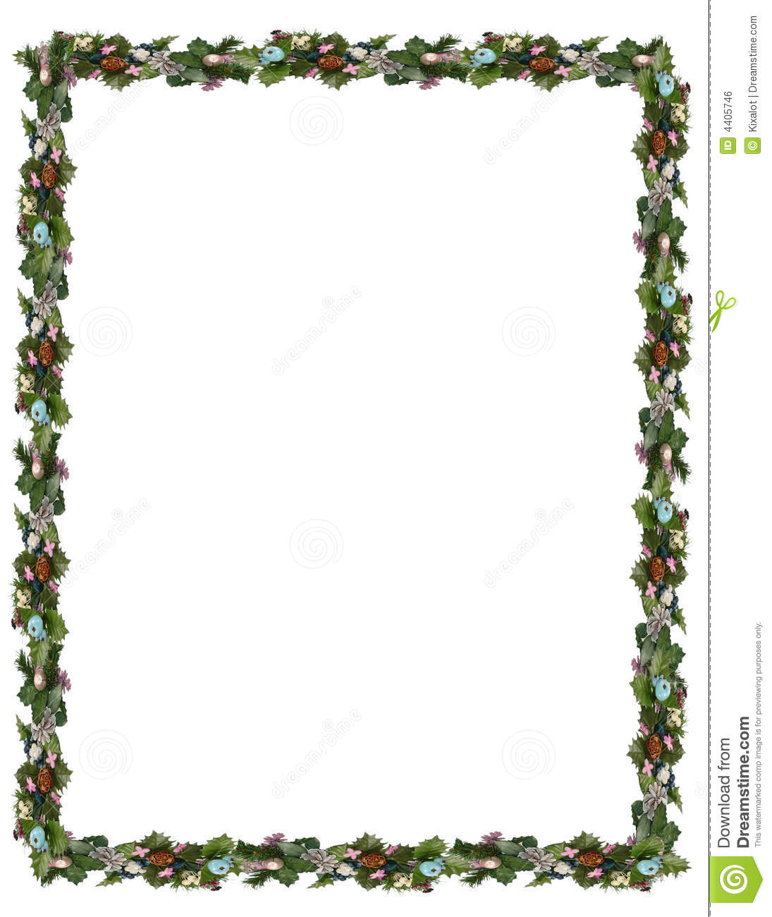 Holiday border clipart free 4 » Clipart Station.