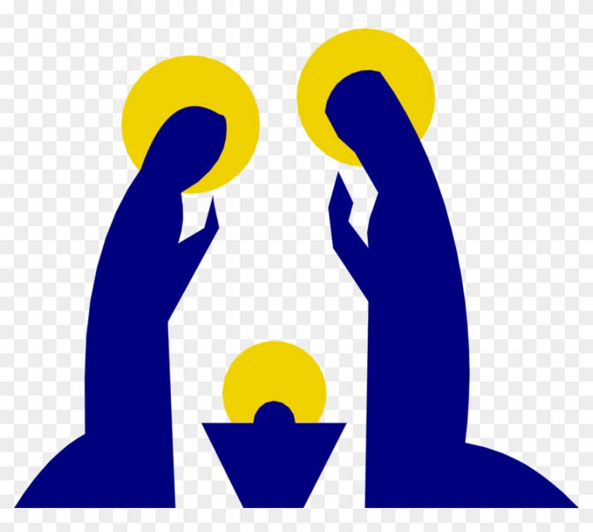 Nazareth Nativity Scene Holy Family Christ Child Christmas.