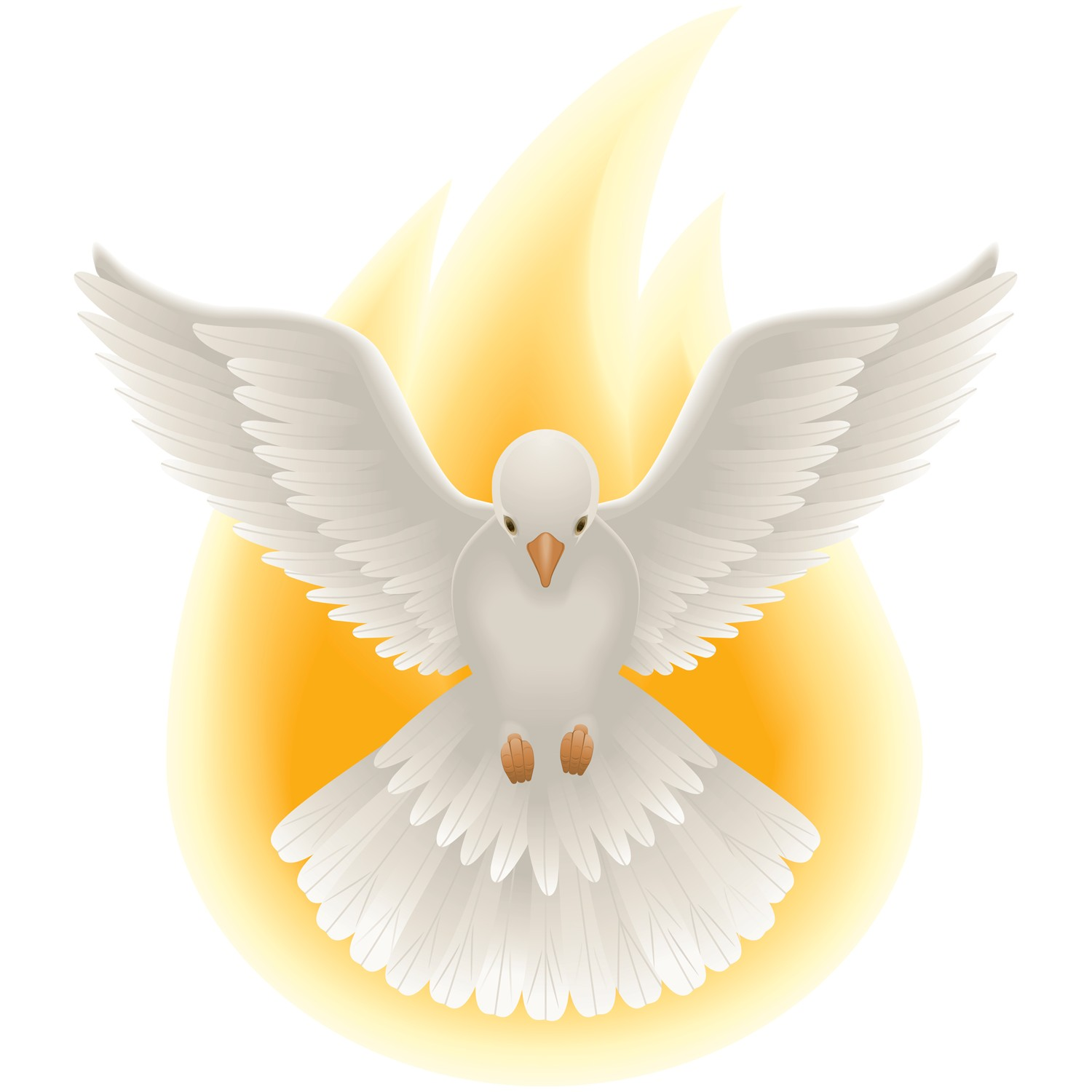 Holy Spirit Fire Clipart.