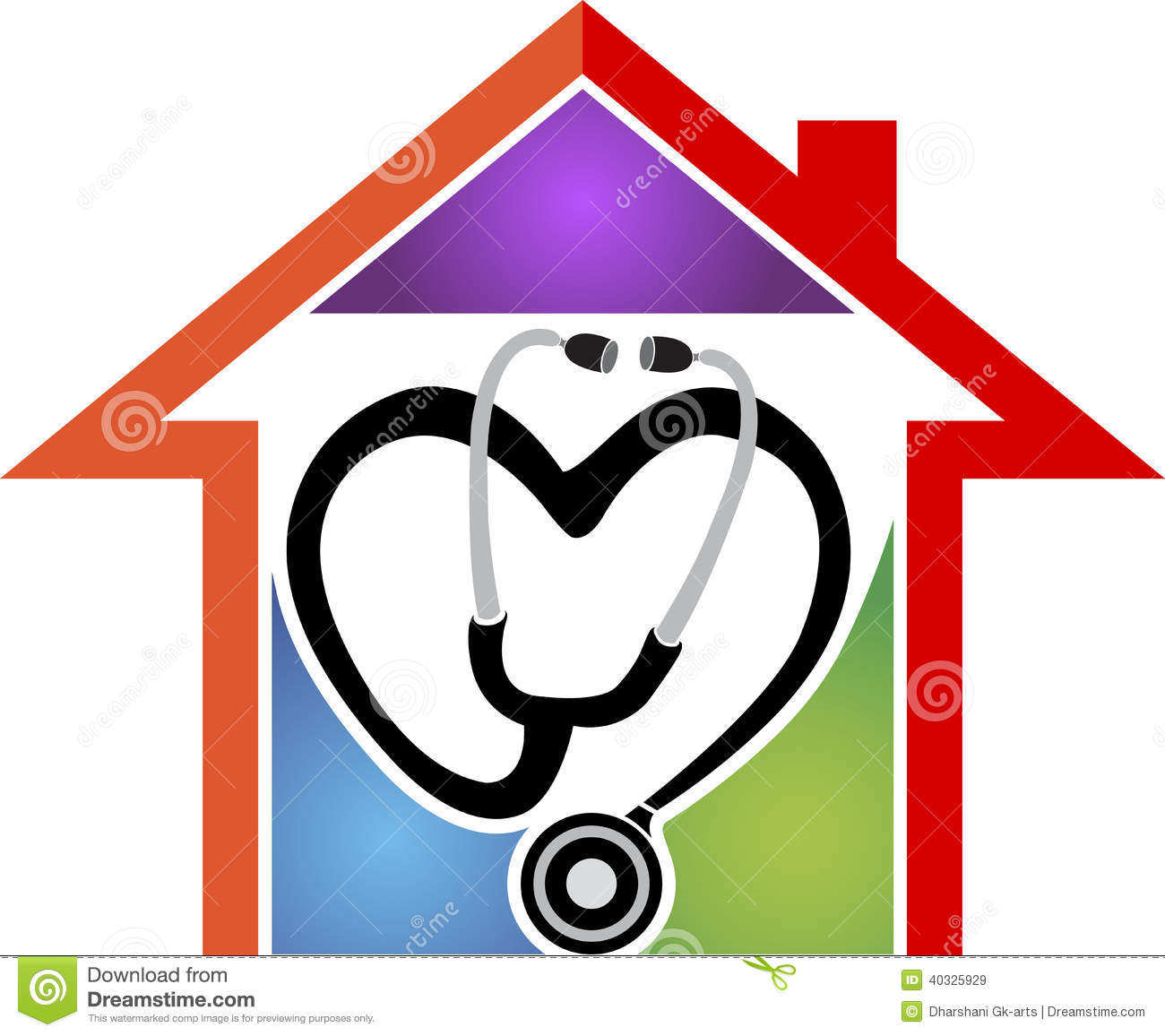 Home Health Care Clipart.