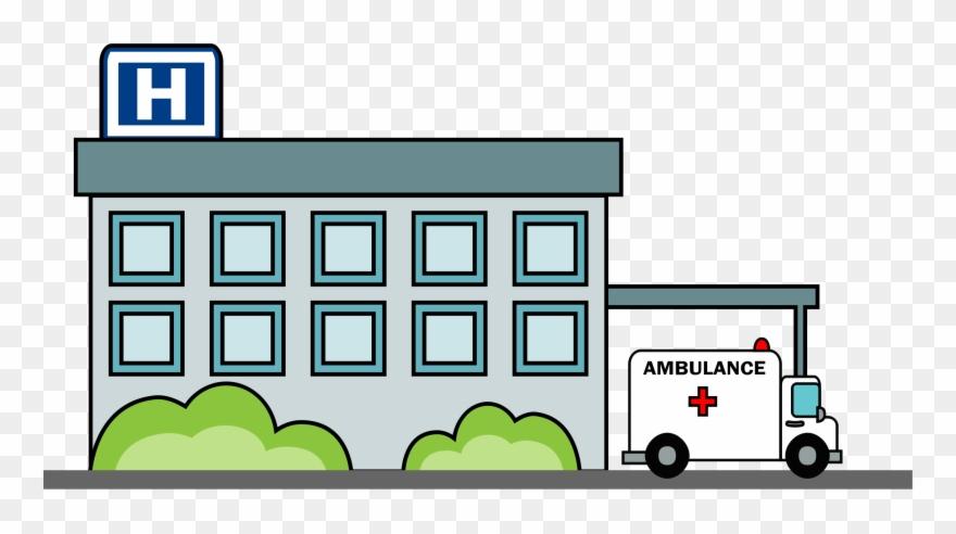 Clipart Hospital Building.