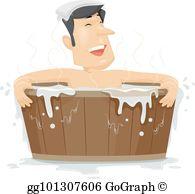 Hot Tub Clip Art.