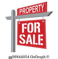 Property Sale Clip Art.