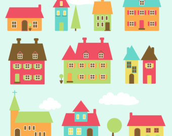 Houses Clipart Free.