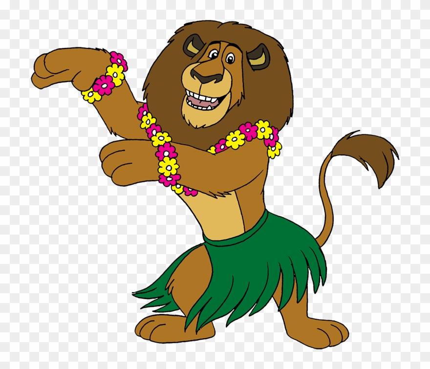 Tropical Hawaiian Hula Dance.