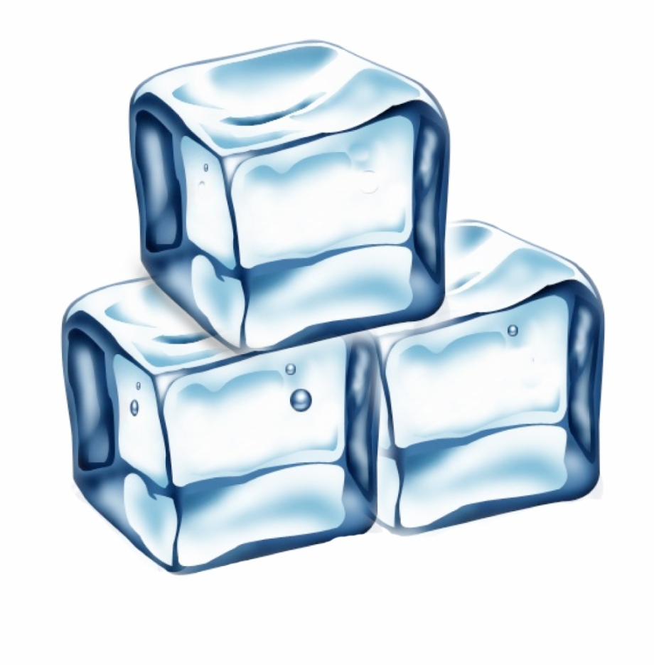 Ice Cube Royalty Free Clip Art.