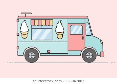 Icecream truck clipart 6 » Clipart Station.