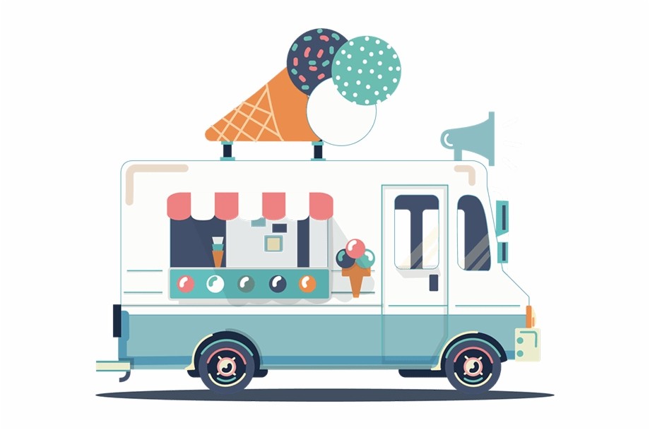 Ice Cream Truck Png, Transparent Png Download For Free #1147924.