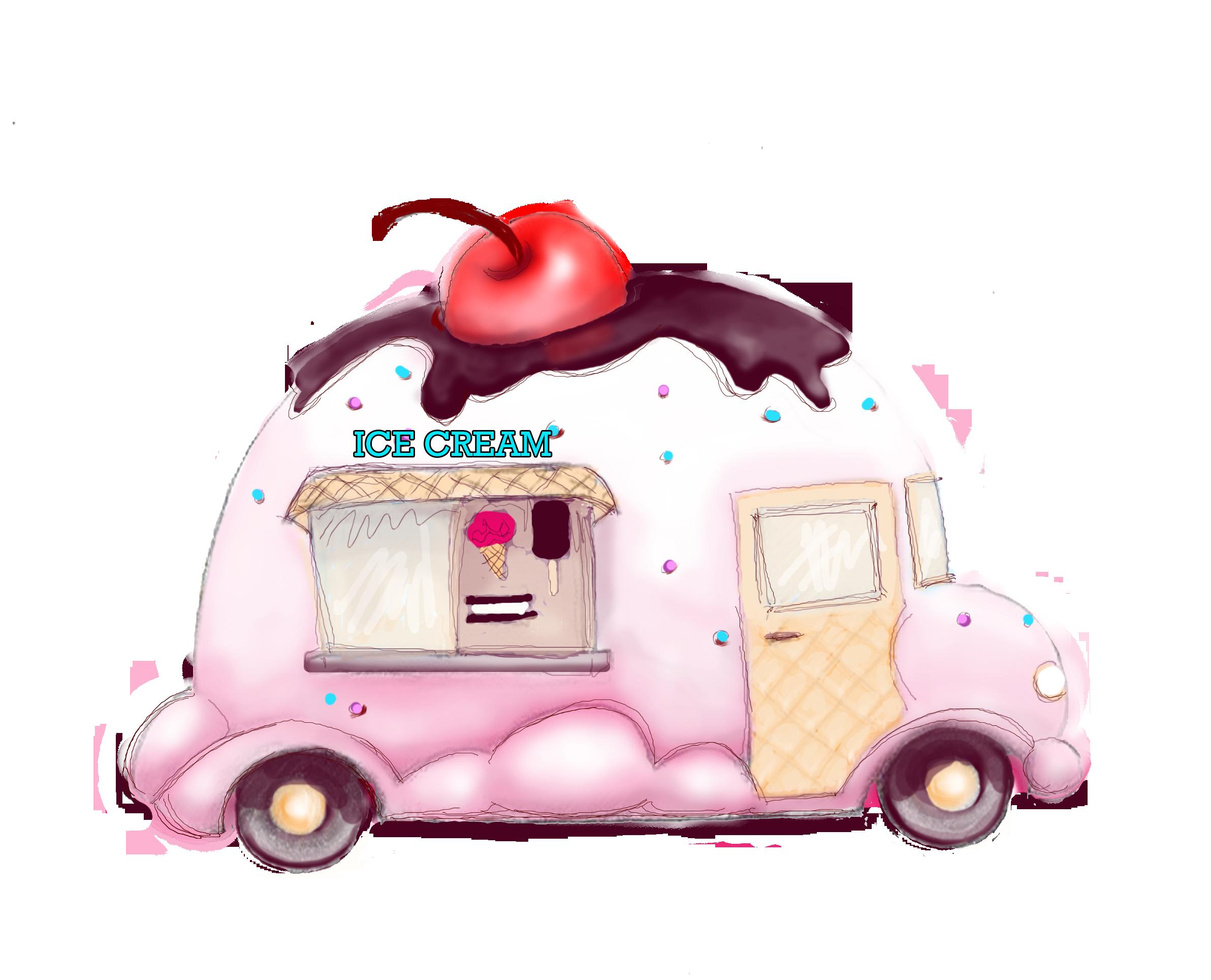 Ice Cream art.