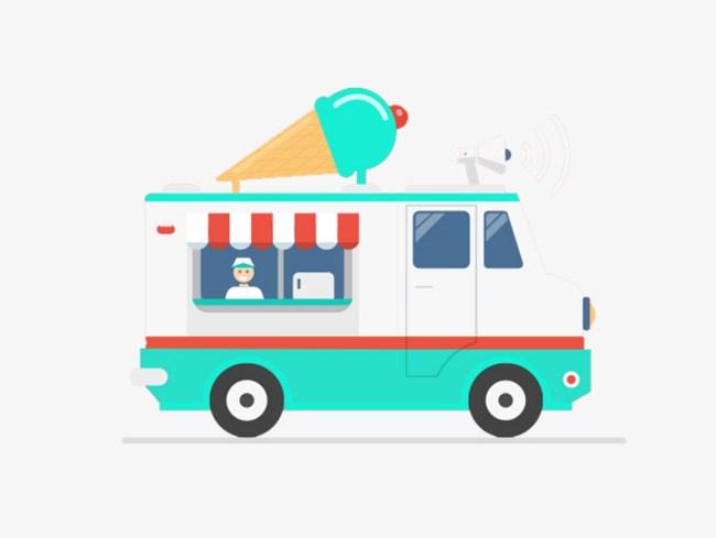 Ice cream truck clipart 1 » Clipart Portal.