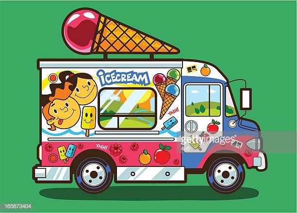 37 Ice Cream Truck Stock Illustrations, Clip art, Cartoons & Icons.