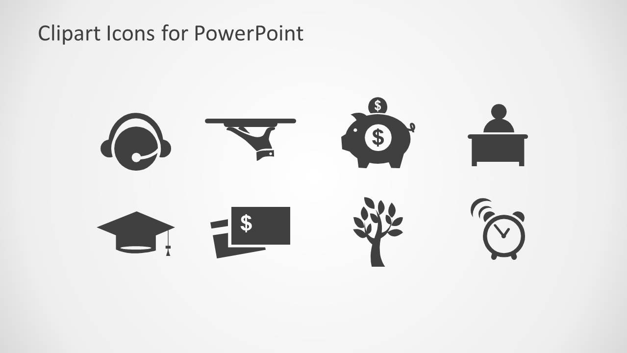 Clipart Icons for PowerPoint.