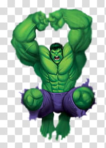 Incredible Hulk transparent background PNG clipart.