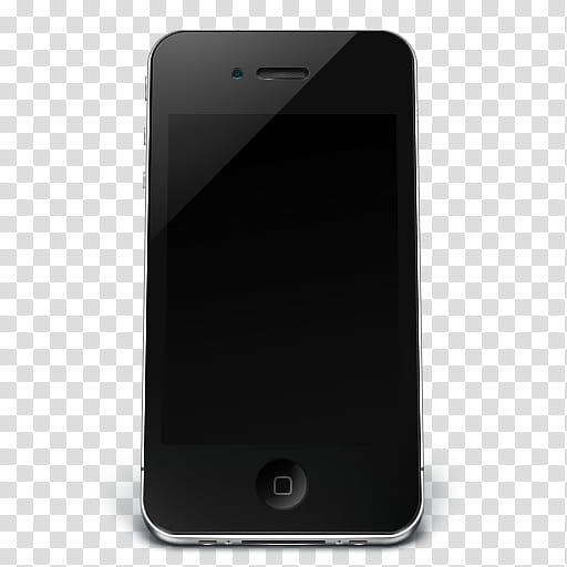 I, black iPhone transparent background PNG clipart.