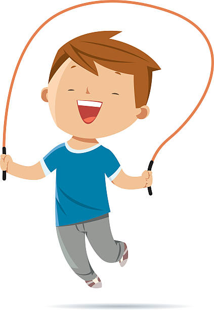 Best Jump Rope Illustrations, Royalty.
