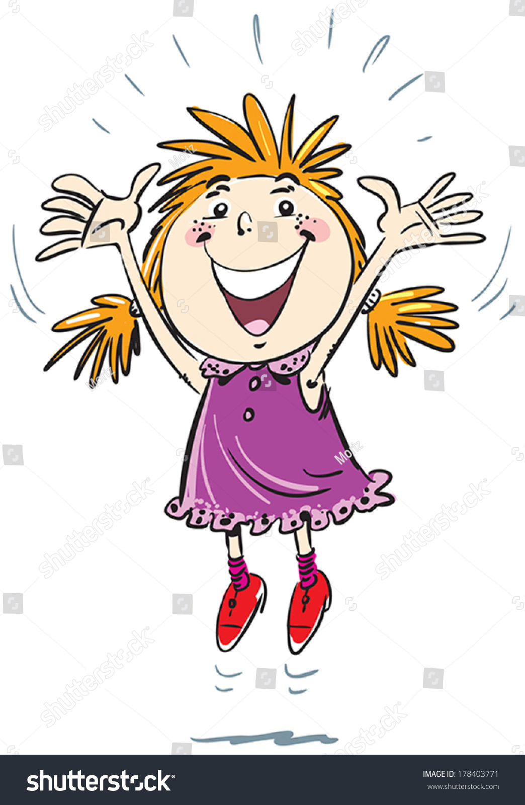 Clipart Jump For Joy & Free Clip Art Images #30367.