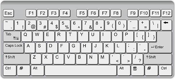 Keyboard Clipart Vector, Clipart, PSD.