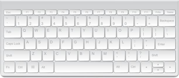 Best Computer Keyboard Illustrations, Royalty.