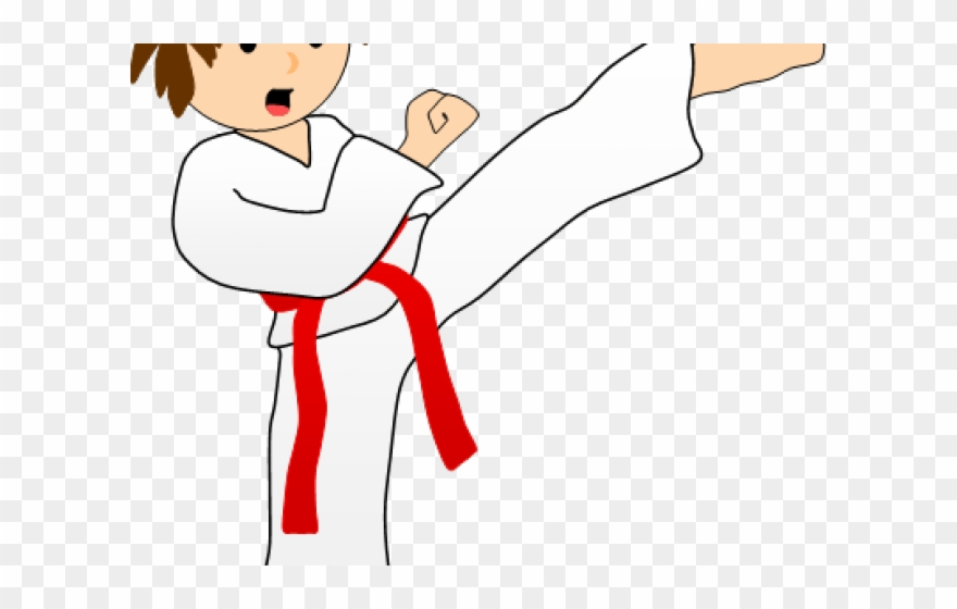 Mixed Martial Arts Clipart Taekwondo Sparring.