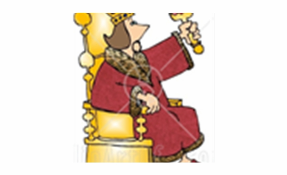 Throne Clipart King David.