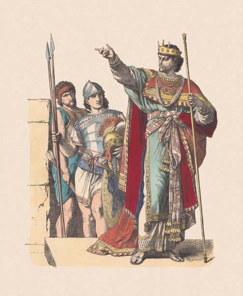 Best King David Illustrations, Royalty.