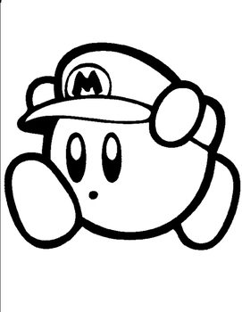 Collection of Kirby clipart.