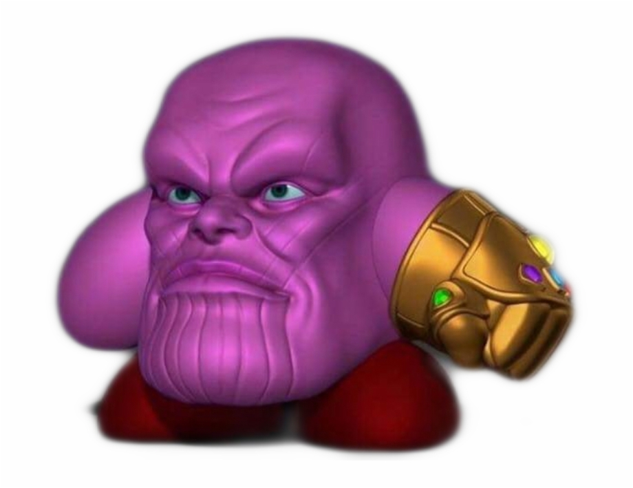 Thanos Kirby Free PNG Images & Clipart Download #2355619.
