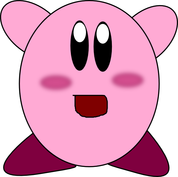 Kirby Clip Art at Clker.com.