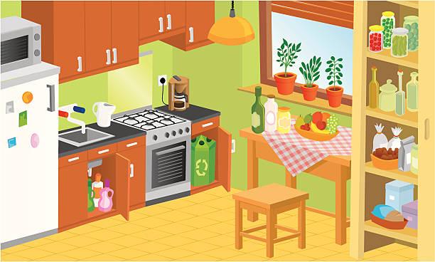 95+ Kitchen Clipart.