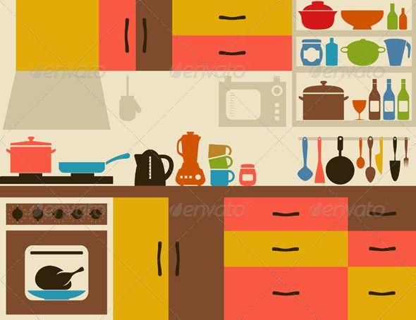 Kitchen clipart home.