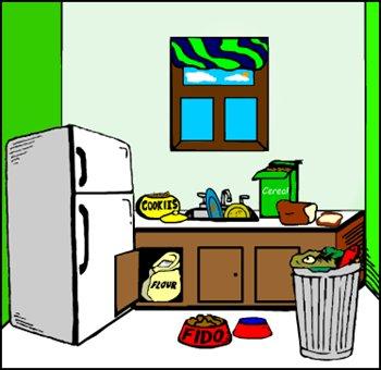 Kitchen clip art images free clipart clipartix.