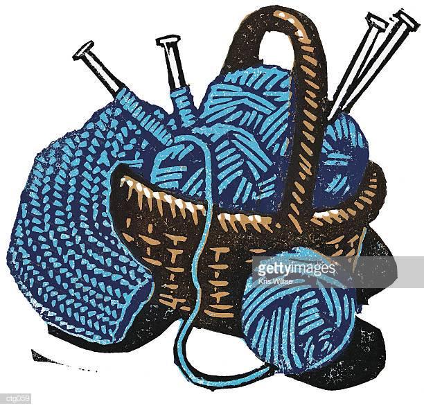 30 Top Knitting Needles Stock Illustrations, Clip art, Cartoons.