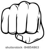 fist knuckles clipart.