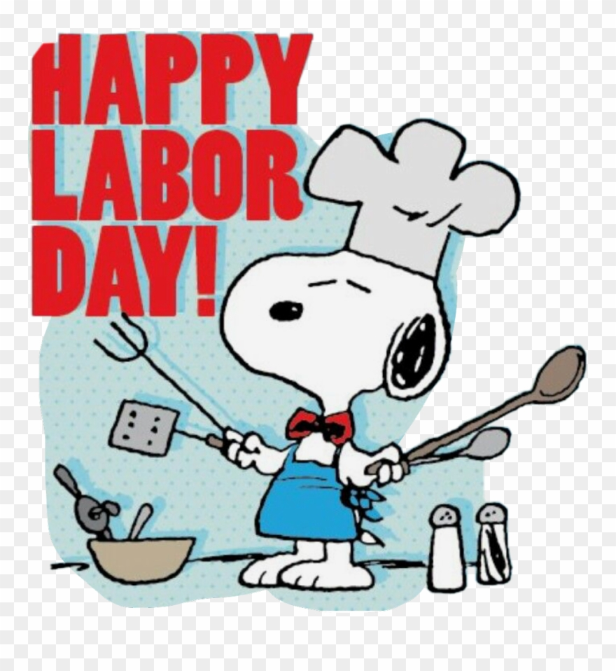Labor Day Clipart Snoopy.