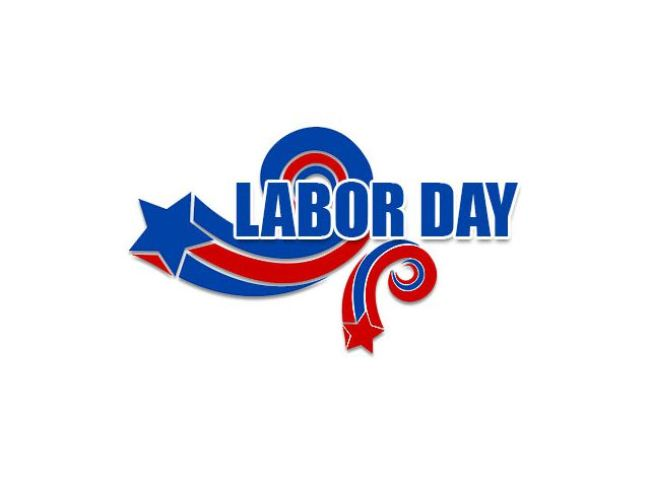 Labor Day 2019 Clip Art Black And White Free Download.