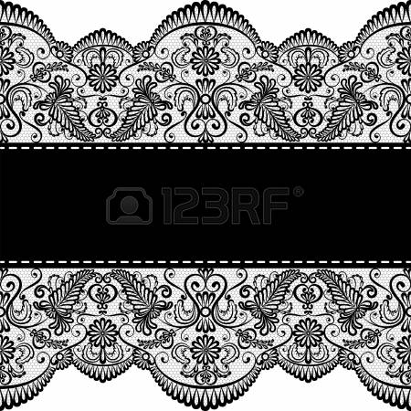 46,133 Lace Border Stock Vector Illustration And Royalty Free Lace.