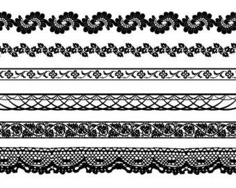 clip art lace borders - Clipground