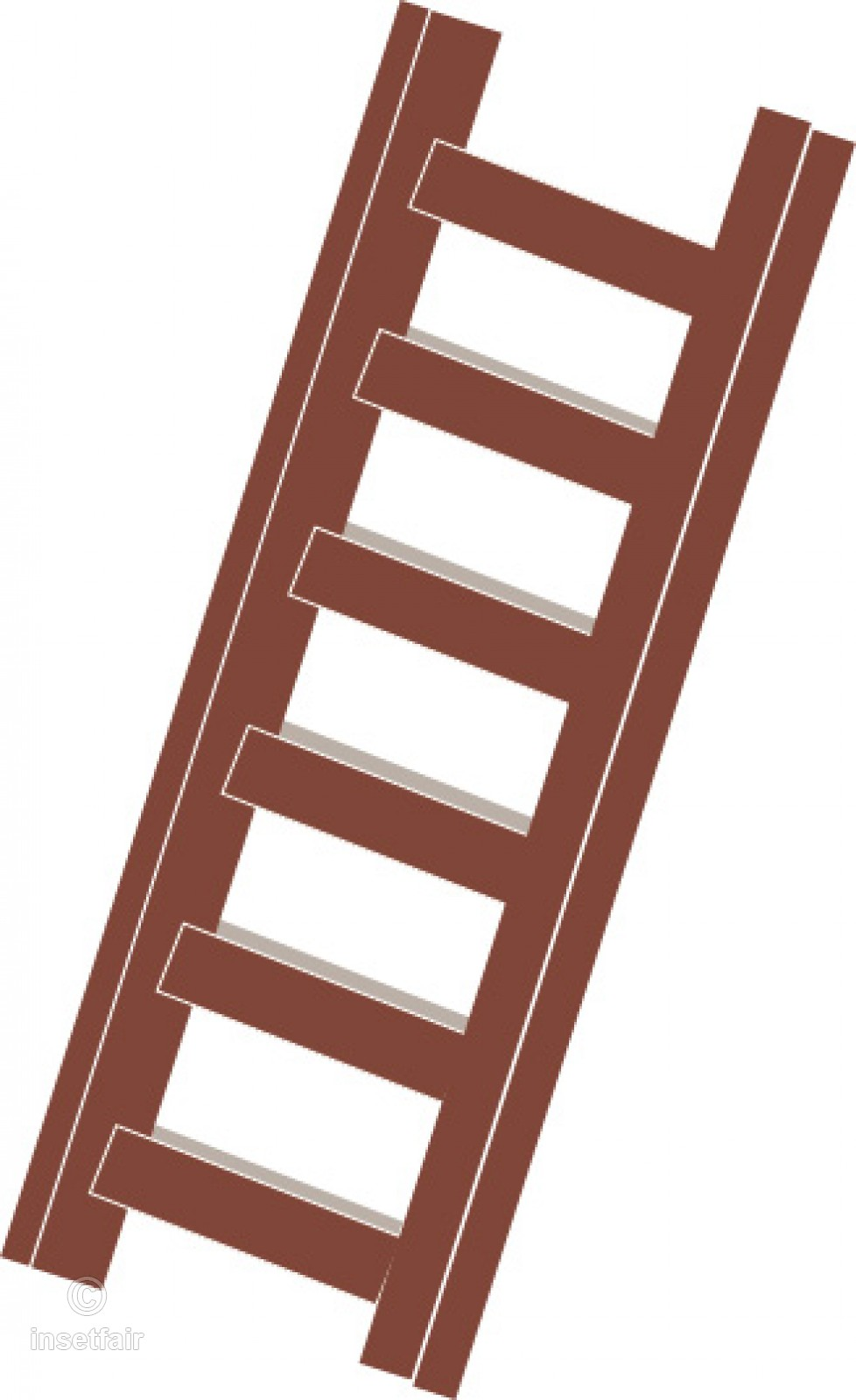 Clip art of a ladder in png format.