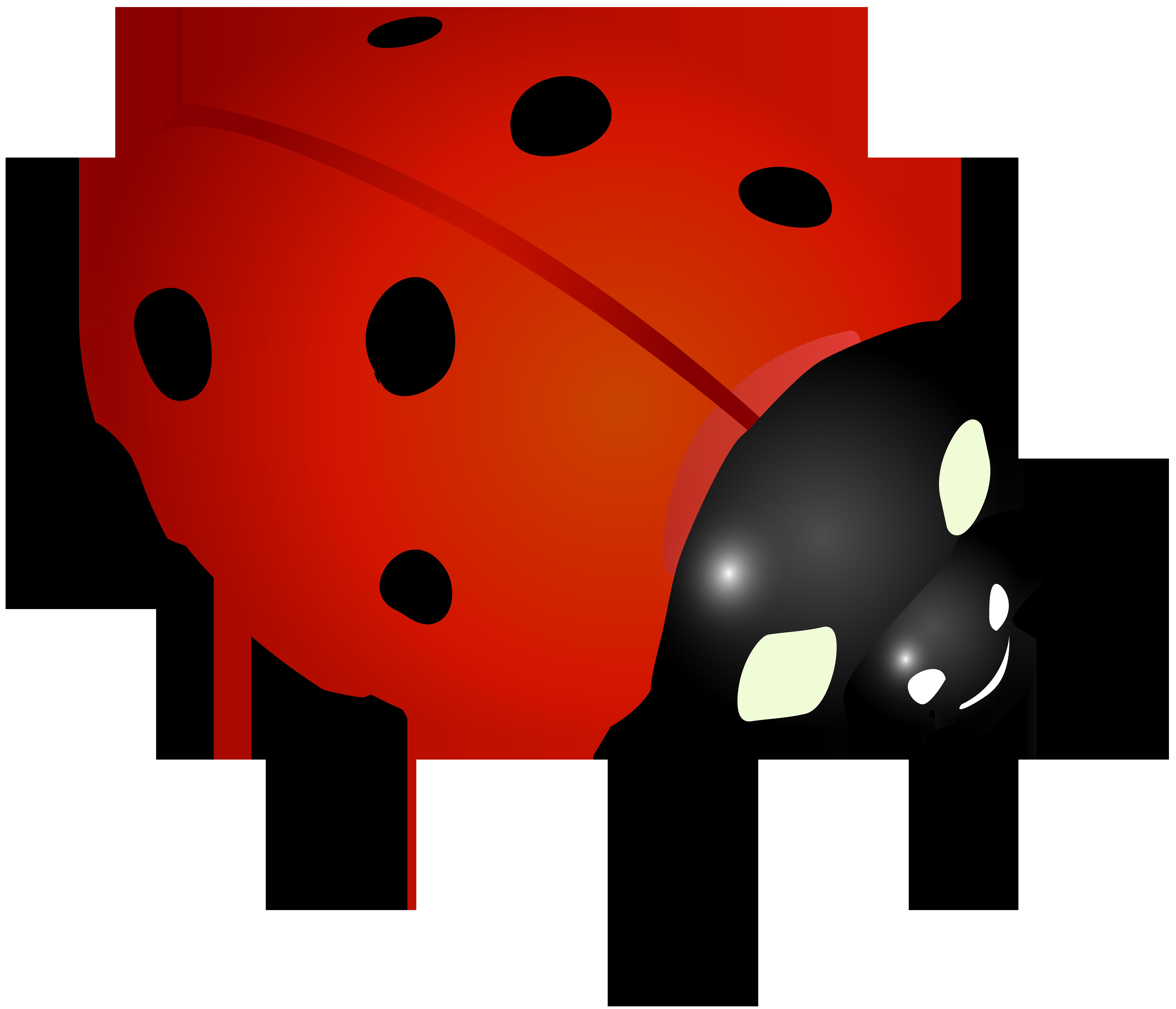 Ladybug Clip Art Image.
