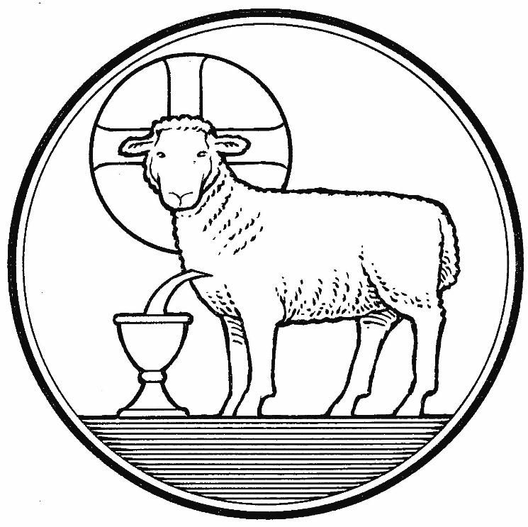 Gallery For > Lamb Of God Coloring Pages.