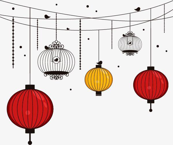 Japanese Lantern, Simple, Japanese Style, Lantern PNG Transparent.