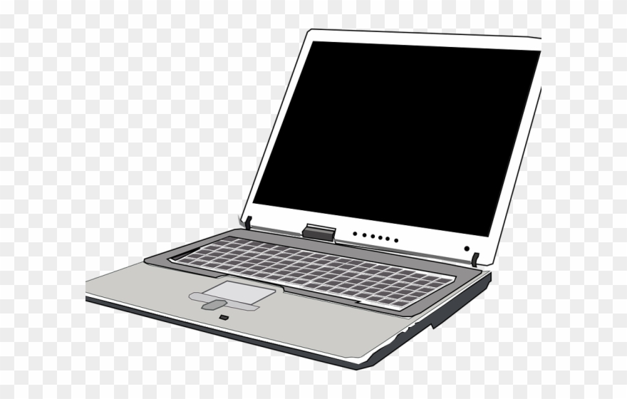Laptop Clipart Vektor.