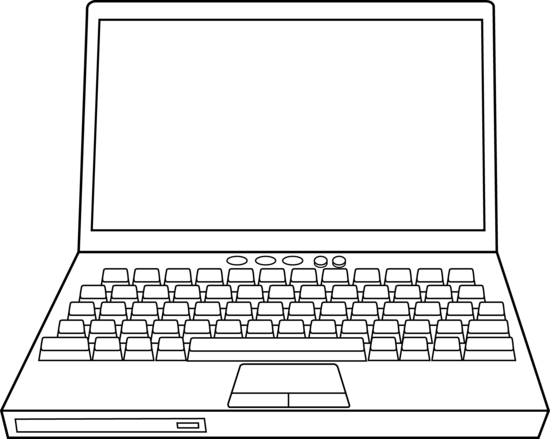 Laptops images notebook image laptop clipart image 3.