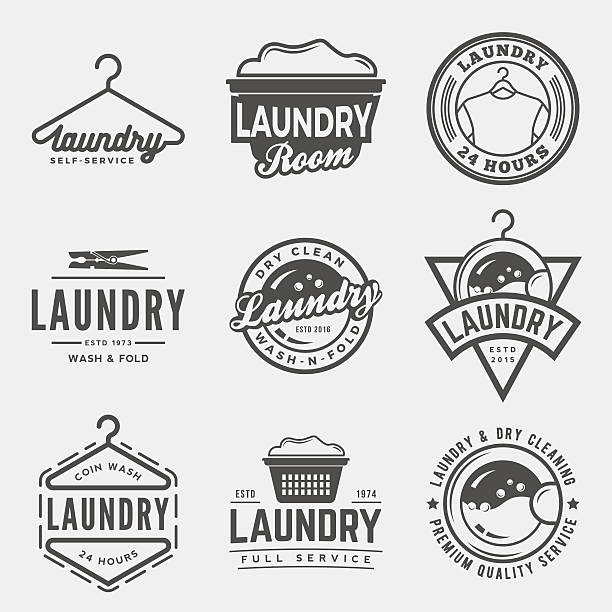Best Laundry Illustrations, Royalty.