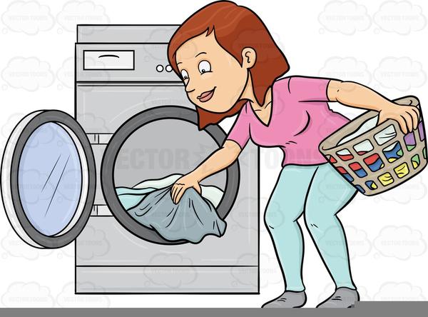 Free Clipart Laundry Room.