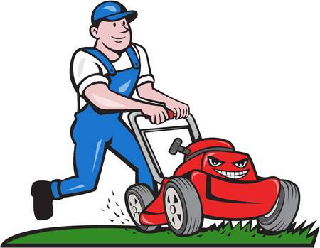 Free lawn mower clipart 4 » Clipart Station.