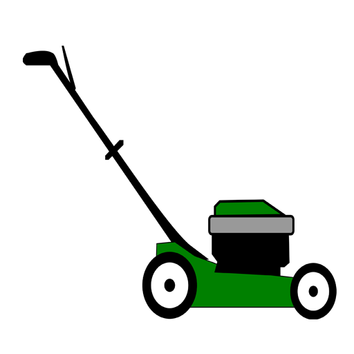 Lawn Mowers Clipart.